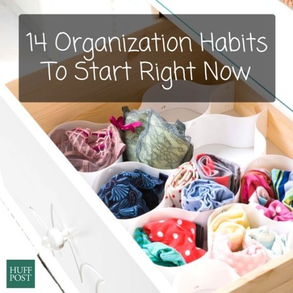 14 Habits From Organized People That We ALL Should Borrow