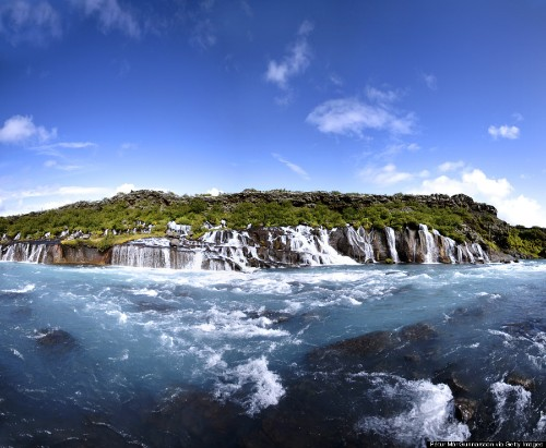 Hraunfossar, The Lava Field Waterfall You Didn't Know Was On Your Bucket List