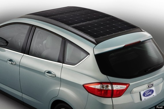 Ford Is Making A Concept Car With Solar Panels For A Roof