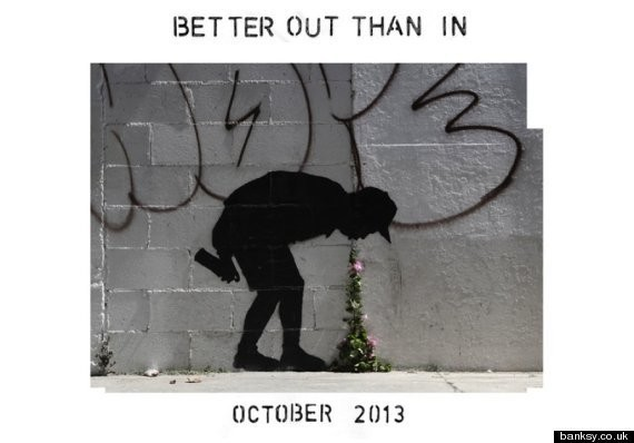 Look, Los Angeles, You Just Got Yourself A New Banksy Mural
