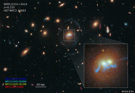 These Giant Merging Galaxies Shed New Light On Star Birth
