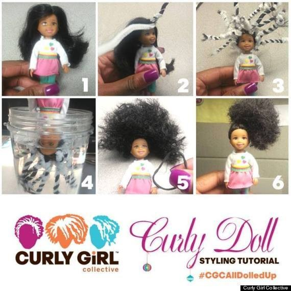 Curly Girl Collective Gives The Gift Of Black Natural-Haired Dolls To Those In Need This Holiday