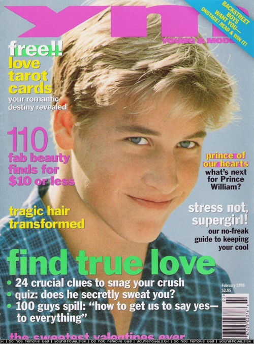 Prince William Cover For YM Makes Our Hearts Flutter (PHOTO)