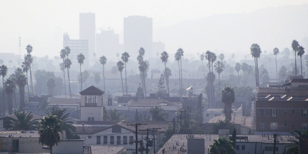 Chinese Pollution Blows Back to California