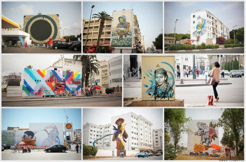 Street Art Transforms Morocco's Capital Into A Living Canvas