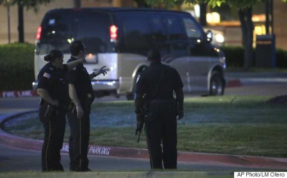 2 Men Shot Dead After Opening Fire Outside Muhammad Art Exhibit In Garland, Texas