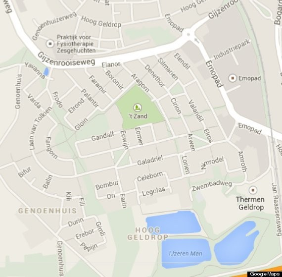 Every Street In This Dutch Neighborhood Has A Lord Of The Rings Name, Which Is Awesome