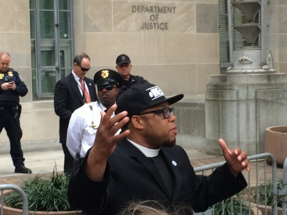 Protesters In Ferguson And D.C. Speak Out On Mike Brown, Environment