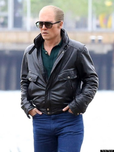 Johnny Depp Looks Unrecognizable As James 'Whitey' Bulger In 'Black Mass'