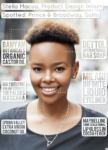 Stella Macua, Product Design Intern, Uses Castor Oil For Everything