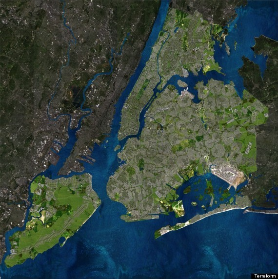This Is What A Totally Green, Sustainable NYC Could Look Like