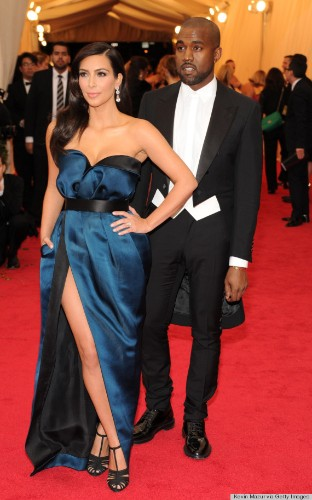 Kim Kardashian And Kanye West Tone It Down For The 2014 Met Gala