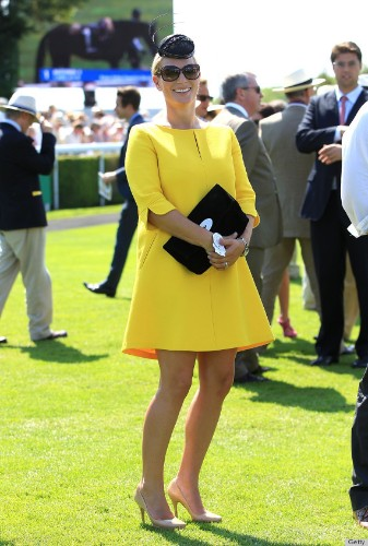 Zara Phillips' Pregnancy Look Is Positively Glowing (PHOTOS)