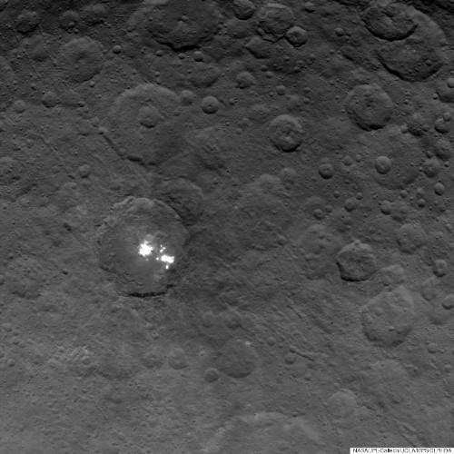New Photos Of Mysterious Bright Spots On Ceres Are The Sharpest Yet