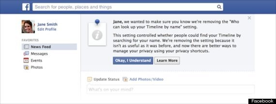 Facebook Is Making It Impossible To Hide In Search
