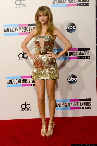 Taylor Swift's American Music Awards Dress Steals The Show