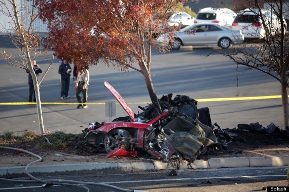Paul Walker Crash Photos Show Severity Of Accident