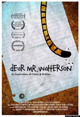 'Calvin And Hobbes' Documentary, 'Dear Mr. Watterson,' To Premiere In November (VIDEO)