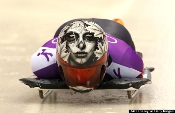 11 Amazing Skeleton Helmets That Almost Make It Seem Like A Good Idea To Slide Headfirst (PHOTOS)
