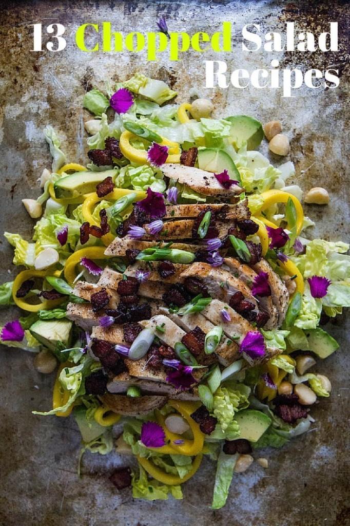 Kale Greek Salad - Magazine cover