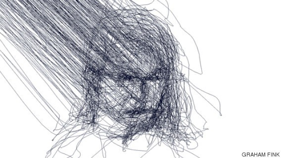 How One Artist Creates Haunting Drawings Using Only His Eyes