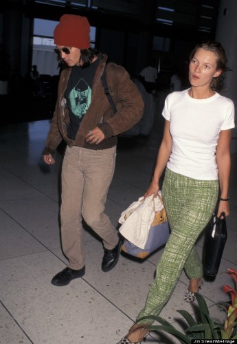 Kate Moss And Johnny Depp Were Quite Possibly The Most Stylish Couple Of The '90s