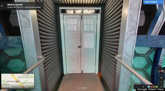 Google Opens The Door To The TARDIS From 'Doctor Who'