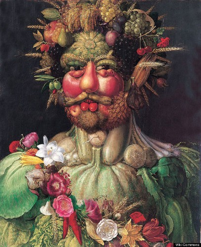 Giuseppe Arcimboldo's 16th Century Optical Illusions Will Blow Your Mind (PHOTOS)