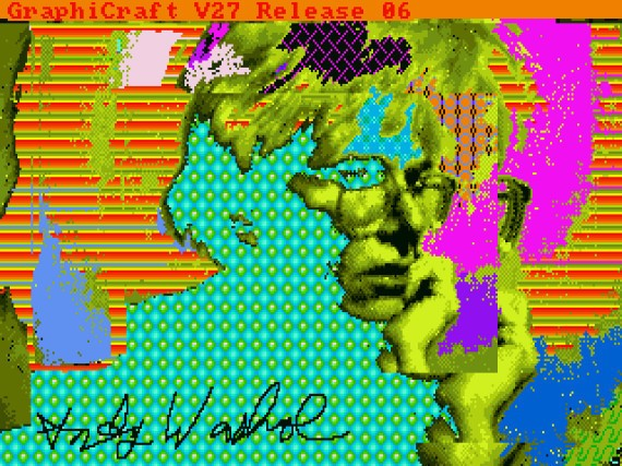 Andy Warhol's Lost Computer Art Recovered 30 Years Later