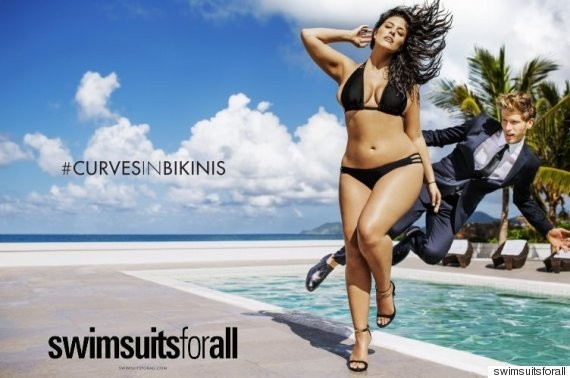 Ashley Graham's Historic Plus-Size Ad Runs In Sports Illustrated's Swimsuit Issue
