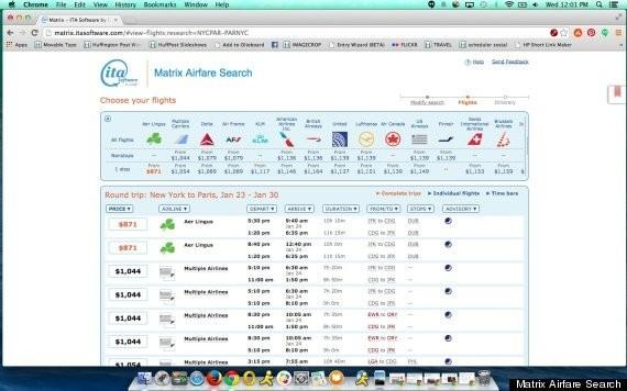 ITA Matrix Is The Magic Cheap Flights Site You've Never Heard Of
