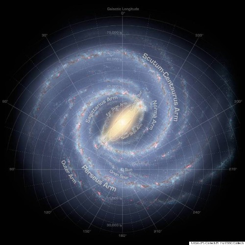 New Milky Way Galaxy Map Is The Most Accurate Ever Created