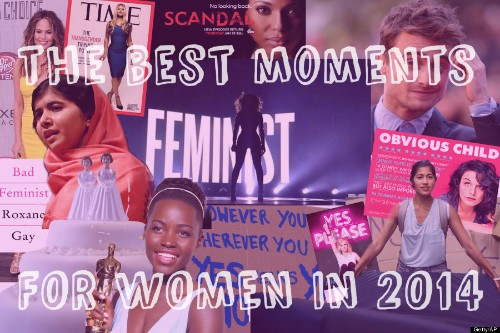 The 29 Best Moments For Women In 2014