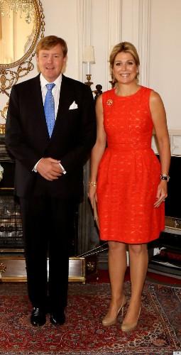 Queen Elizabeth Meets Queen Maxima! (PHOTOS)