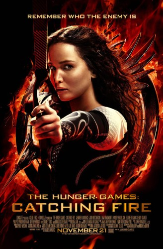 'Hunger Games: Catching Fire' Poster Sees Katniss In All Her Glory
