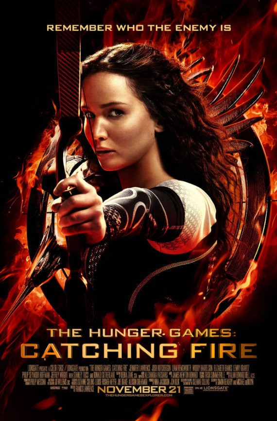 Hunger Games: Catching Fire - Magazine cover