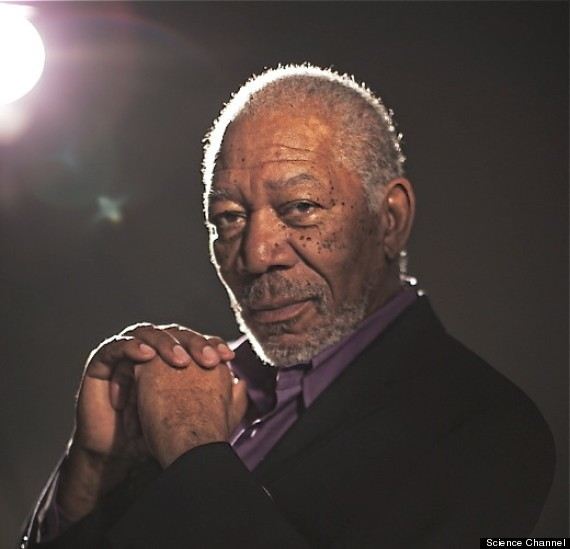 Morgan Freeman Asks: 'If Aliens Exist, Do They Worship God?'