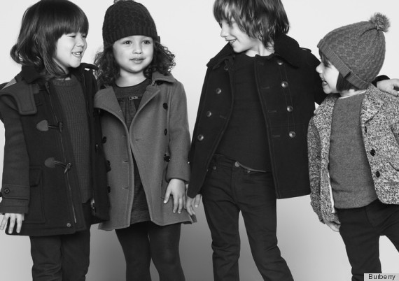 Burberry Children's Ads Are Too Cute For Words (PHOTOS)