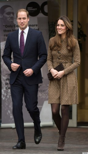 Kate Middleton Repeats A Perfect Fall Outfit In London (PHOTOS)