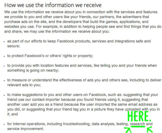 Didn't Read Facebook's Fine Print? Here's Exactly What It Says