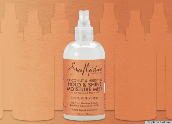 SheaMoisture Hold & Shine Moisture Mist Refreshes Your Curls Without Adding Frizz