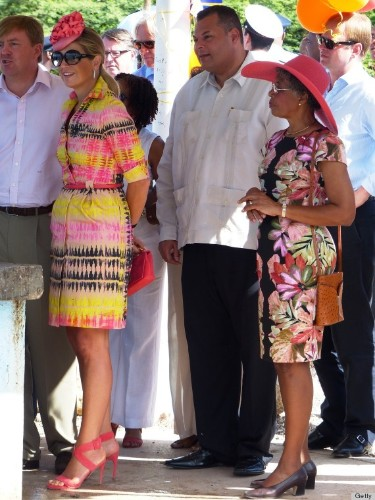 Queen Maxima's Caribbean Wardrobe Is Making Us Need A Vacation (PHOTOS)