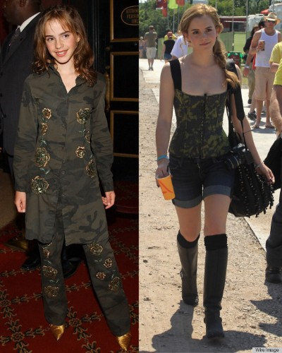 Emma Watson Still Takes Style Cues From Her Hermione Granger Days