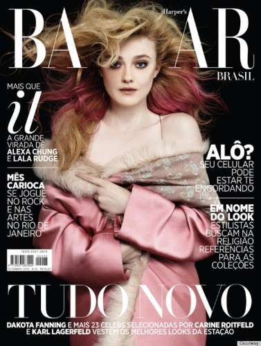 Dakota Fanning's Dramatic September Cover Is Brought To You By Karl Lagerfeld (PHOTO)