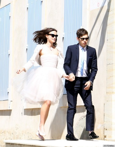 Keira Knightley's Wedding Dress: An Outfit Repeat? (PHOTOS)