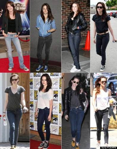Kristen Stewart's Jeans And T-Shirt Style Hasn't Changed Since 2005