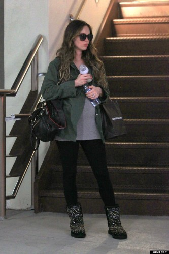 Megan Fox's Baby Bump Makes A Cameo On Trip To The Doctor's