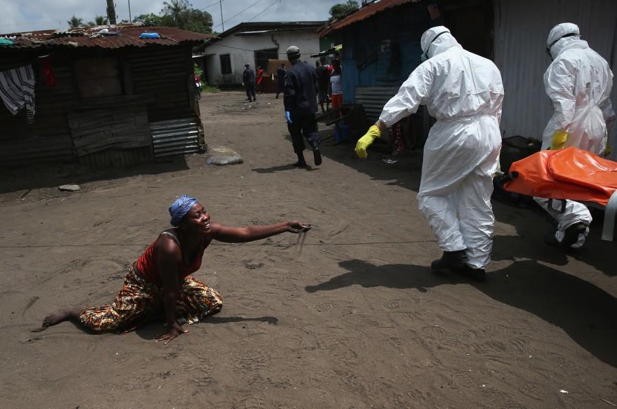 Ebola News. .  - Magazine cover