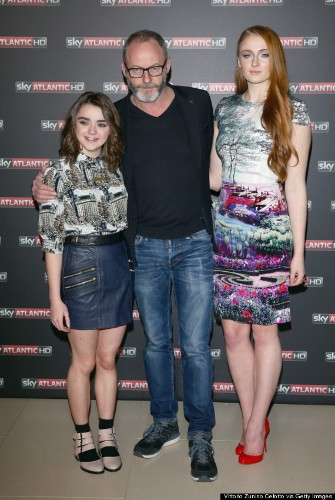 Sophie Turner And Maisie Williams Are All Grown Up At 'Game Of Thrones' Event