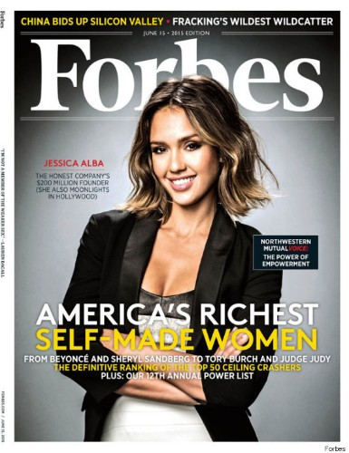 Forbes Names Jessica Alba One Of America's Richest Self-Made Women With $200 Million Fortune